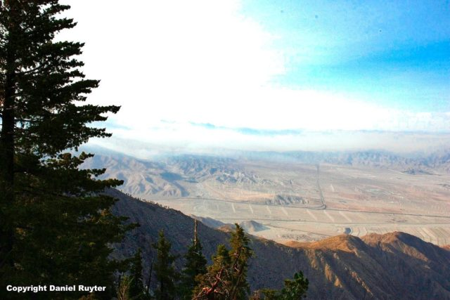 Palm Springs Aerial Tram Review - View of the Desert Down Below