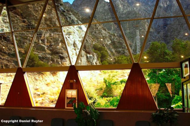 Palm Springs Aerial Tram Review - Inside the Lower Tram Station