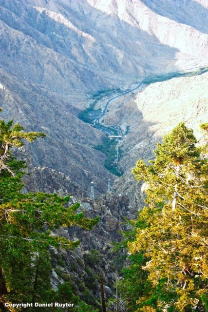 Palm Springs Aerial Tram Review - View of the Valley Down Below