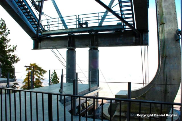 Palm Springs Aerial Tram Review - Upper Tram Station