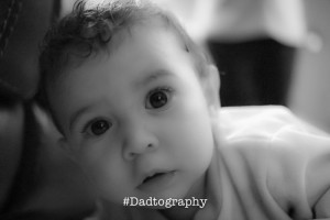 Baby Girl Soft Portrait - Dadtography