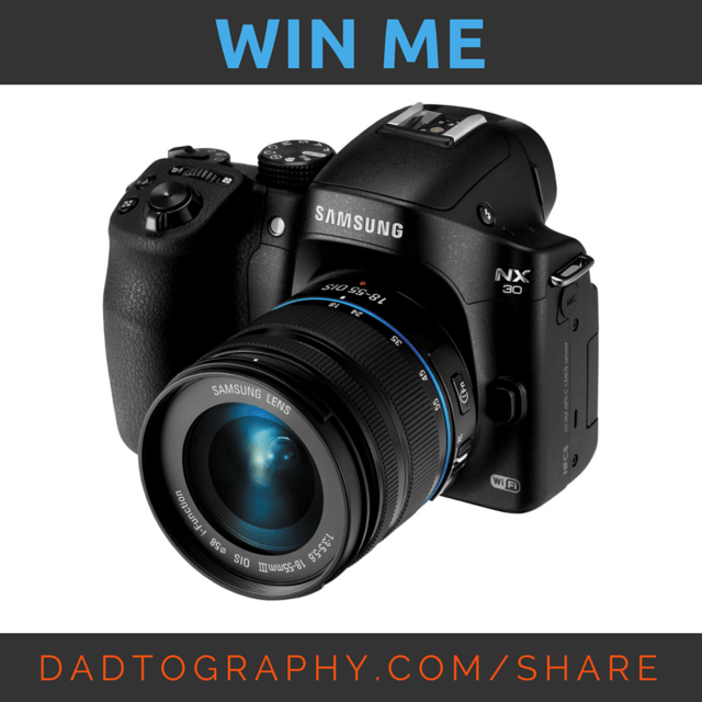 Enter to Win a Samsung NX30