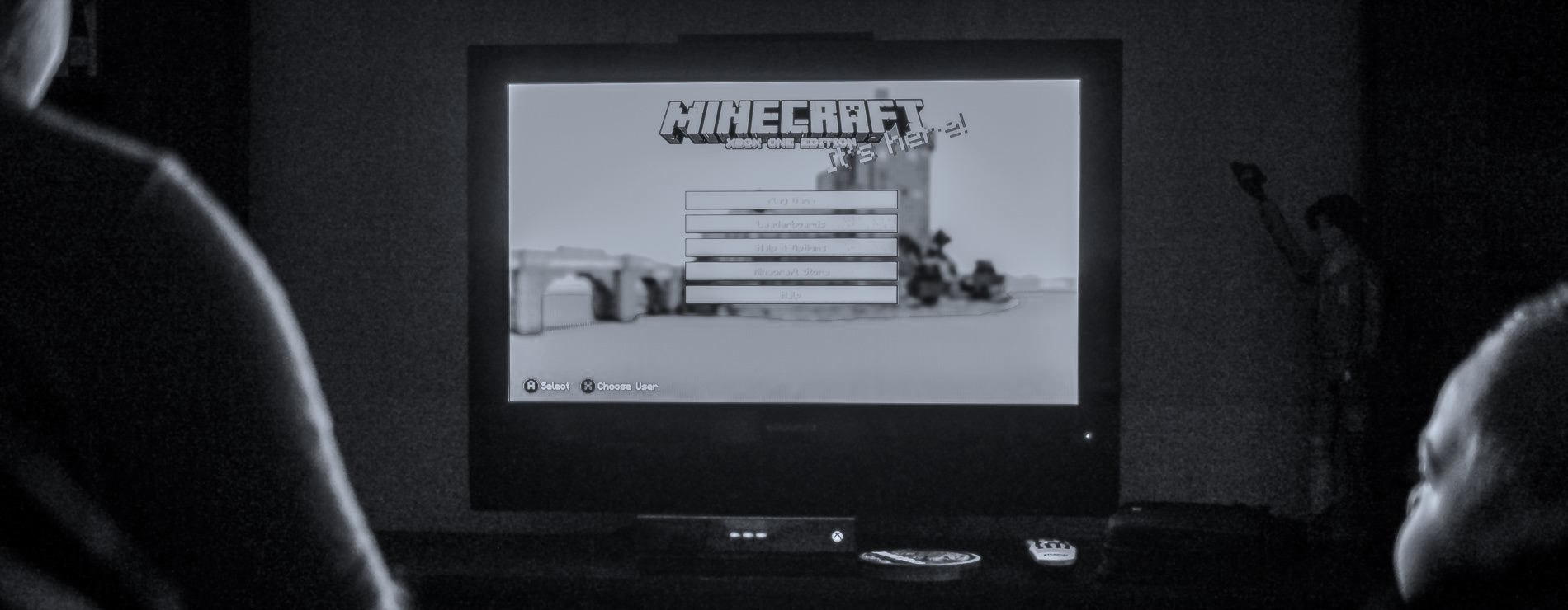 Life Lessons from Minecraft: A Dadtography Series