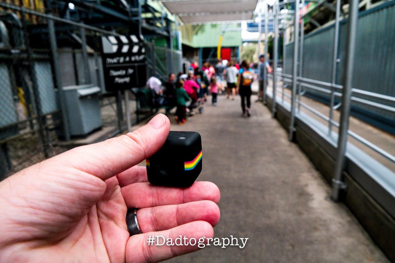 Exploring Hollywood Studios with the Polaroid CUBE