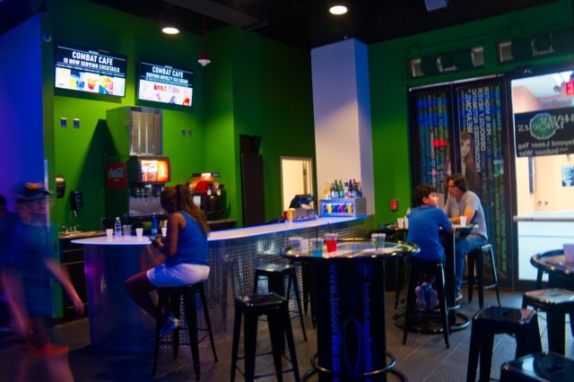 Hard Knocks Pointe Orlando Combat Cafe