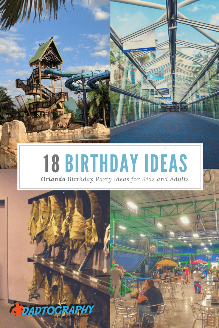 Orlando Birthday Party Ideas for Kids and Adults