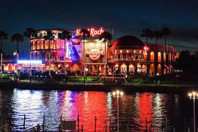 Hard Rock Cafe & Hard Rock Live - Orlando Citywalk - Copyright Dadtography
