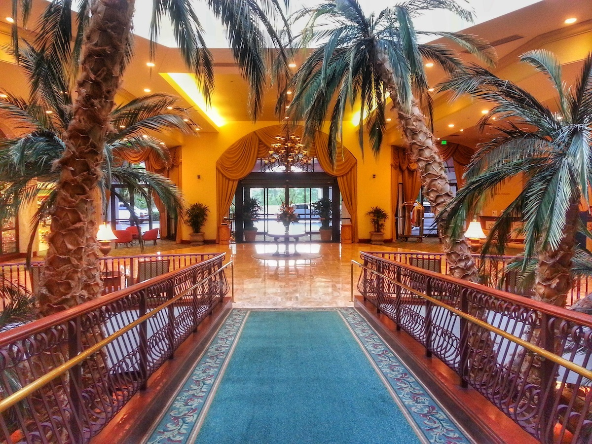 Caribe Royale Hotel Front Entrance
