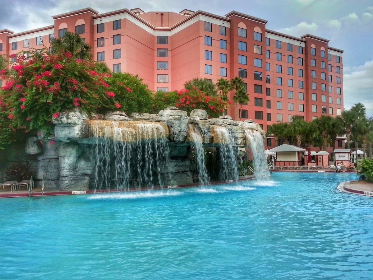 Caribe Royale Hotel Pool Waterfall
