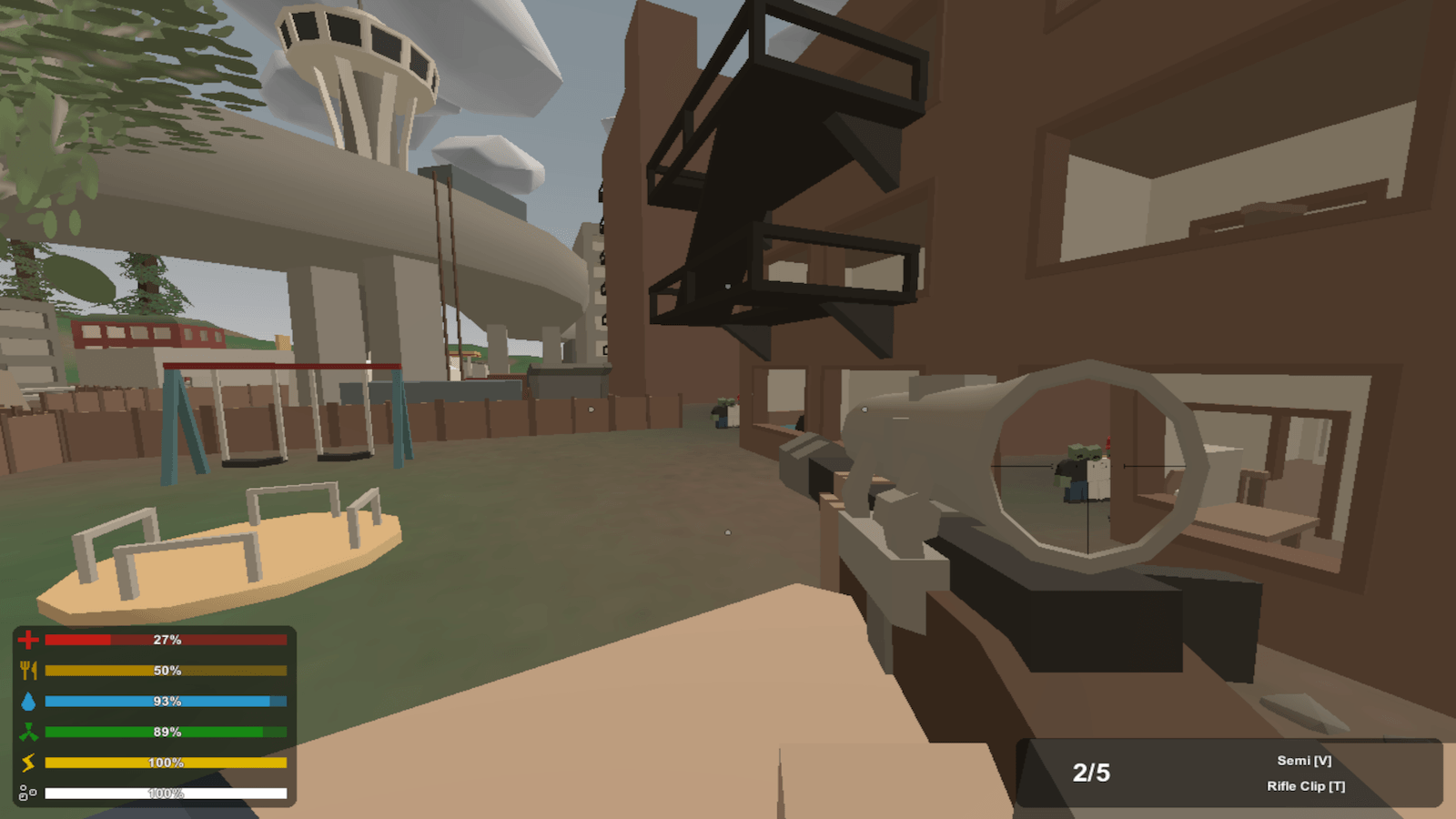 Unturned Game Review: Beaucoup Bullets Required