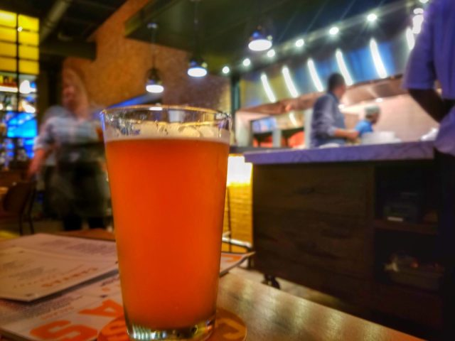 Enjoy a Beer at Canvas Lake Nona