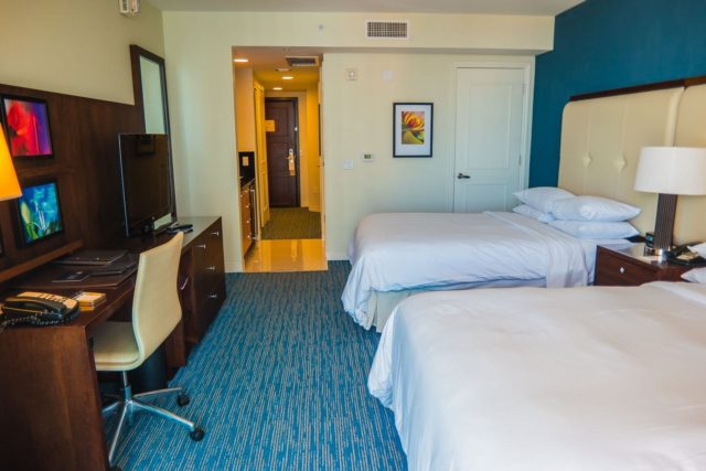 Facing into the room - Hilton Ft. Lauderdale Beach Resort