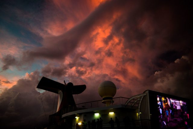 Carnival Liberty Review - Beautiful Sunset Sky After Rain