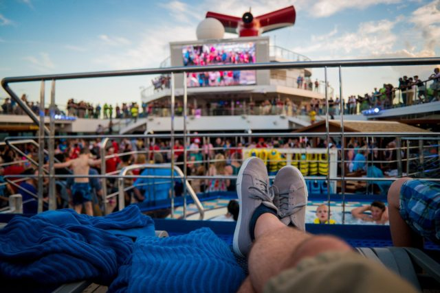 Carnival Liberty Review - Sail Away Party