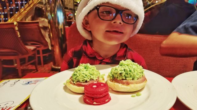 Carnival Liberty Review - Dr Seuss Breakfast