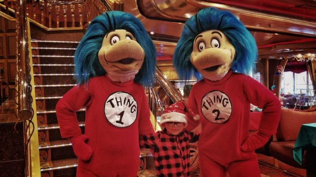 Carnival Liberty Review - Thing 1 and Thing 2