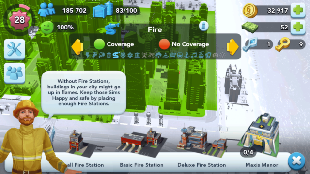 SimCity BuildIt Fire Stations