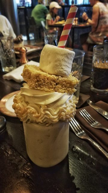 Marshmallow Milkshake at Toothsome Universal Citywalk