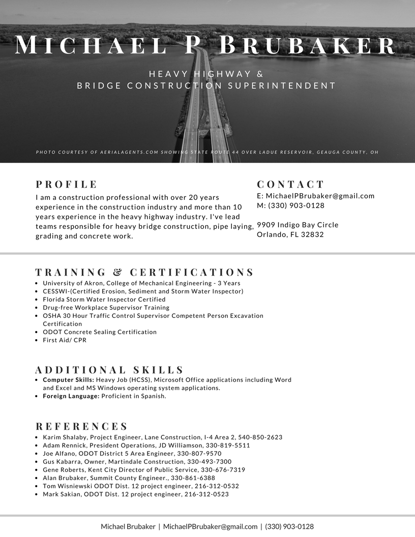 modern résumé designs not just for tech job seekers orlando
