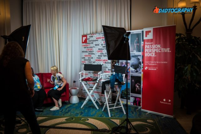Mom 2 Summit - Flipboard Booth