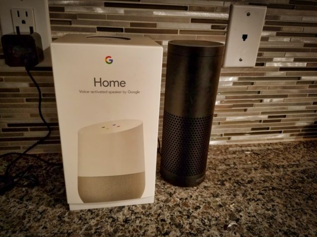 Amazon Echo vs Google Home - Dadtography