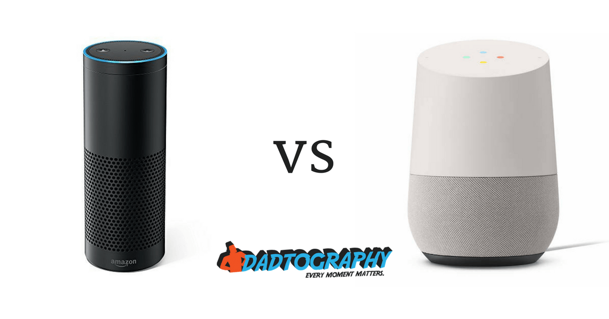 Geek Dad: Echo vs Home