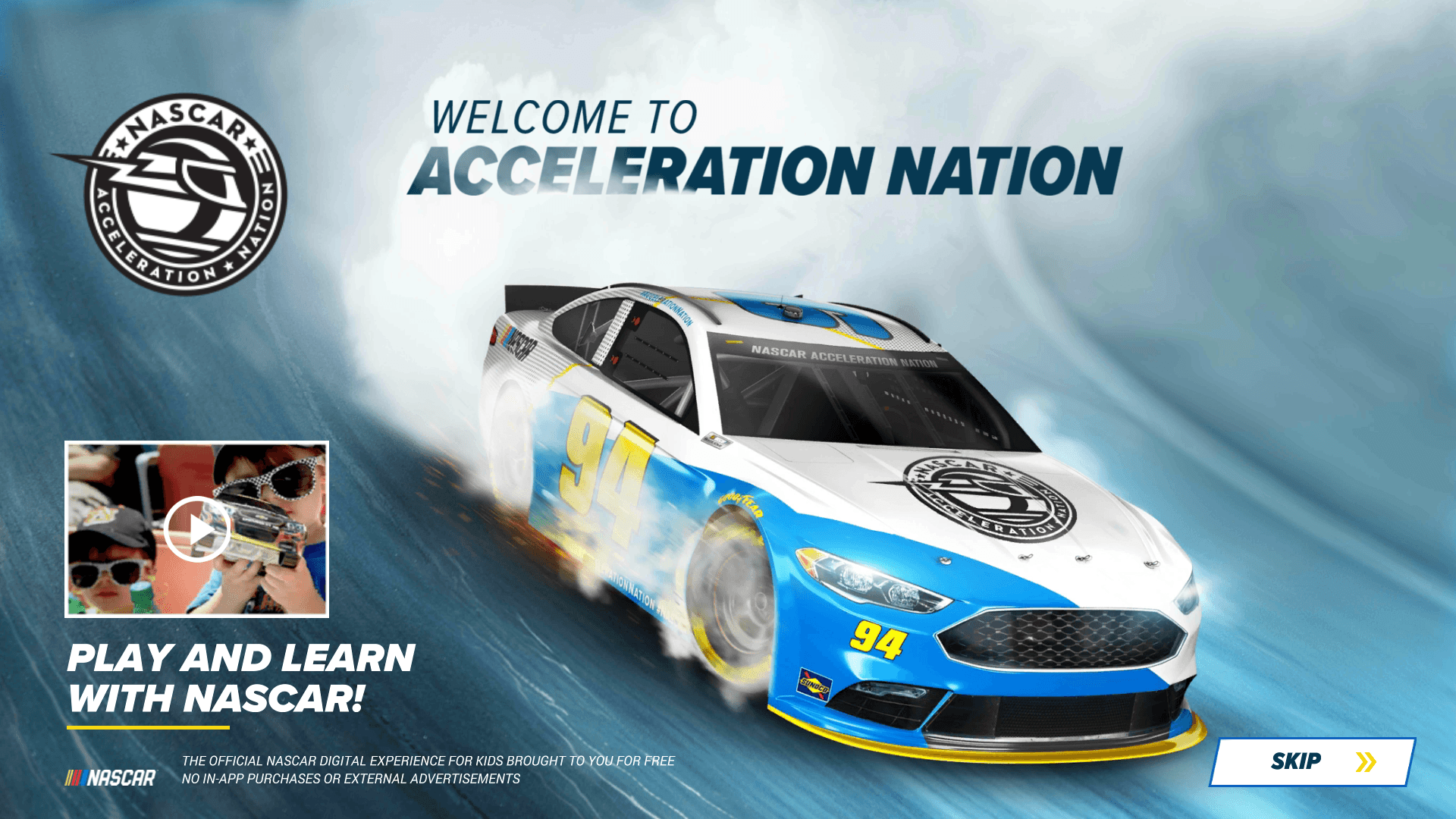 geek dad races into the season with the new nascar acceleration nation app ad. Black Bedroom Furniture Sets. Home Design Ideas