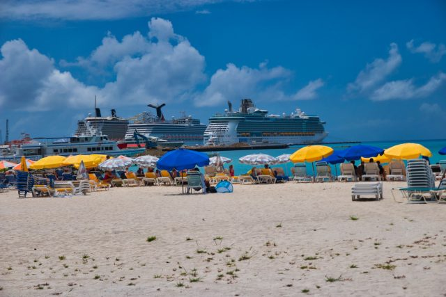 Cruise Ships in Port - Philipsburg St Maarten