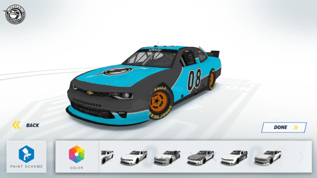 That's My Ride in NASCAR Acceleration Nation App
