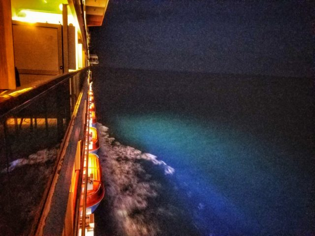 Carnival Liberty - Night Balcony Sailing