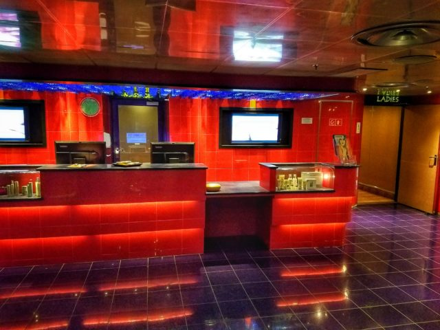 Carnival Liberty - The Spa Front Desk