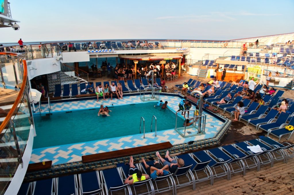 Carnival Liberty Review - Pool Water Slide - 00002