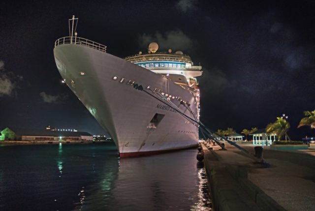 Royal Caribbean Majesty of the Seas Ship Photos - Nassau at Night 09