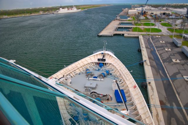 Royal Caribbean Majesty of the Seas - Ship Bow Port Canaveral
