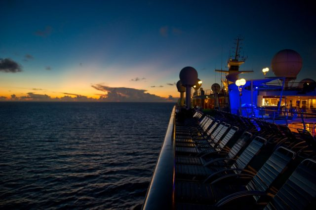 Royal Caribbean Majesty of the Seas - Sunset Over the Majesty