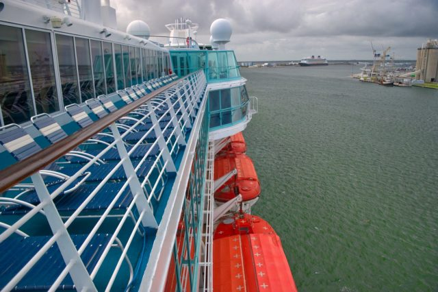 Royal Caribbean Majesty of the Seas - Starboard Side