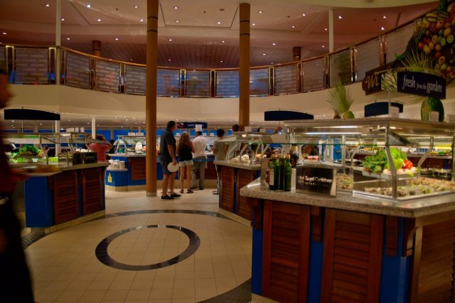 Windjammer Cafe - Deck 11 - Royal Caribbean Majesty of the Seas