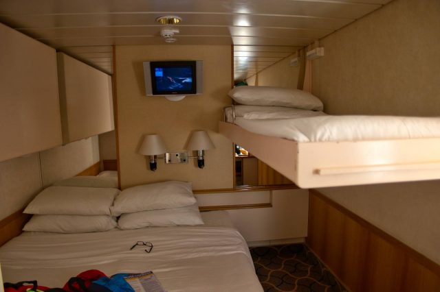 Royal Caribbean Majesty of the Seas - Interior Stateroom with Trundle Bed