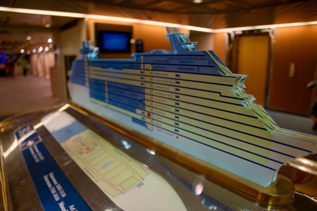 Royal Caribbean Majesty of the Seas - Elevator Ship Floor Guide
