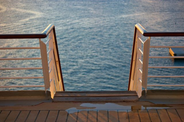 Watch Your Step - Royal Caribbean Majesty of the Seas