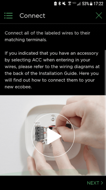 Connect demo video - Ecobee Mobile App Install Steps - Ecobee4 Review