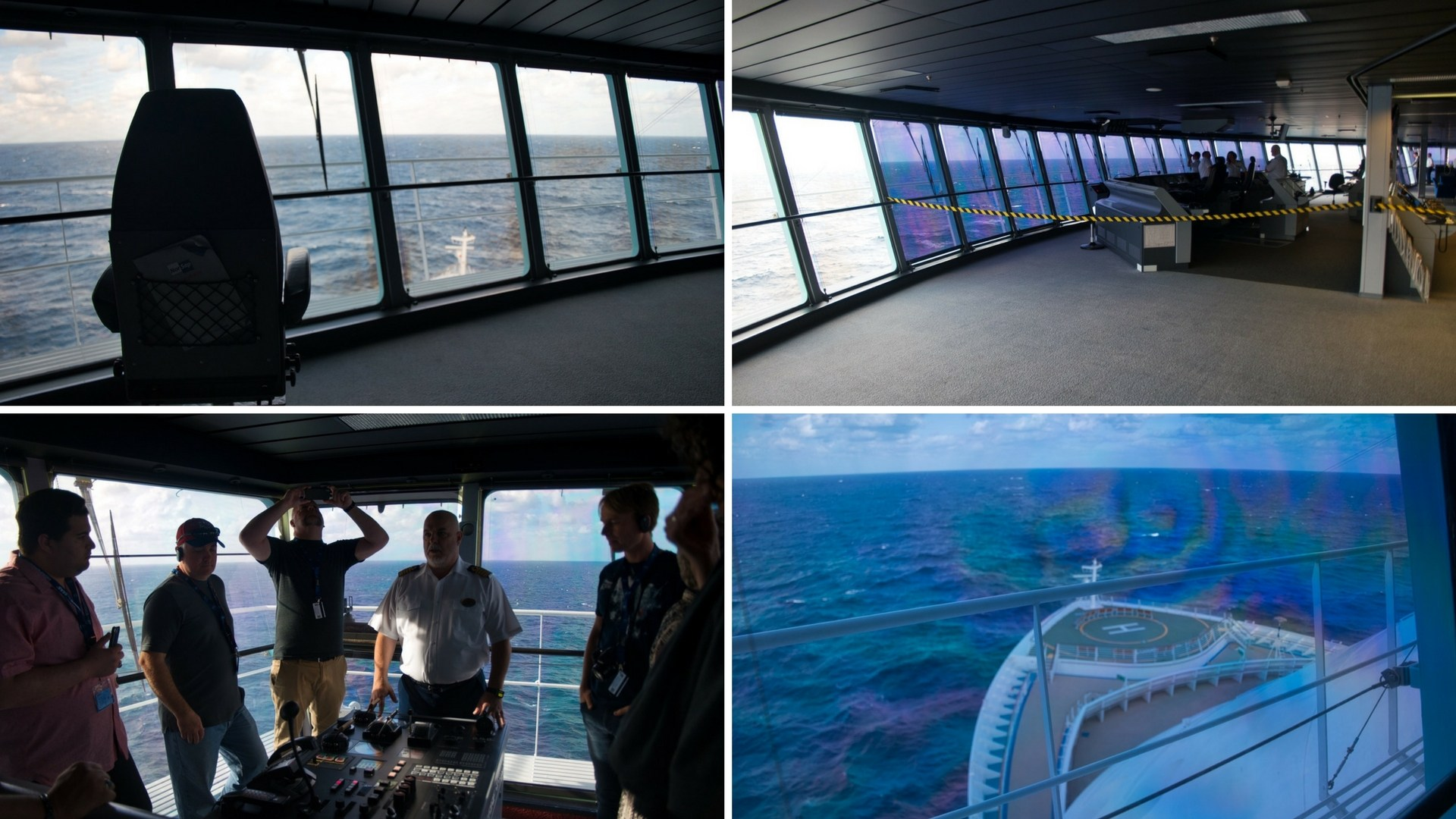 All Access Ship Tour - Bridge - Captain Theo Explains the Role of the Bridge