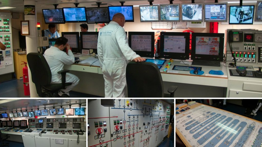All Access Ship Tour - Engine Control Room