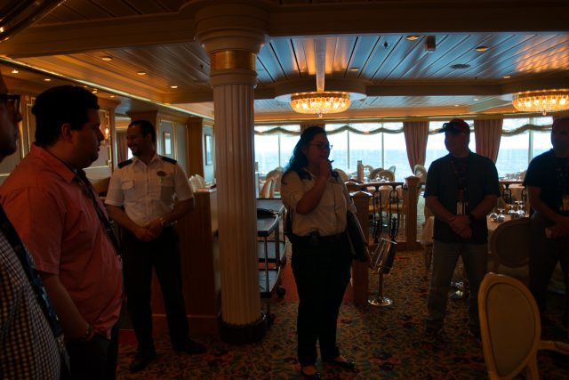 Behind the Scenes Ship Tour - Start of the Tour