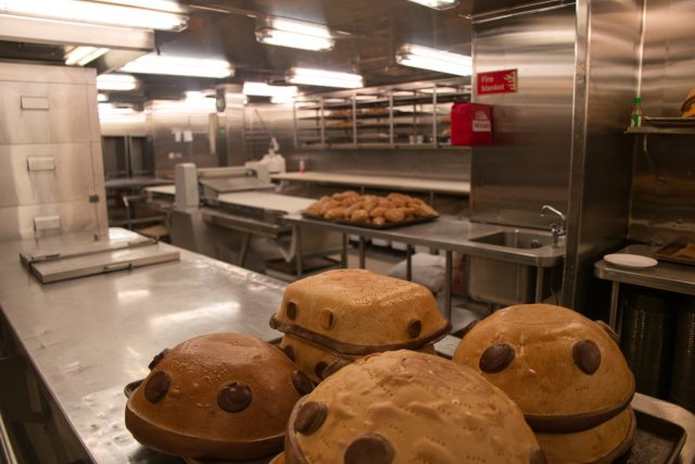 Behind the Scenes Ship Tour - 3rd Deck Galley Bakery