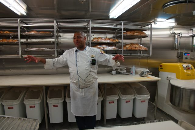 Behind the Scenes Ship Tour - Executive Chef Wong