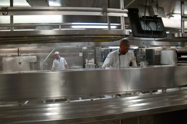 Behind the Scenes Ship Tour - Chef Wong in the Hot Kitchen