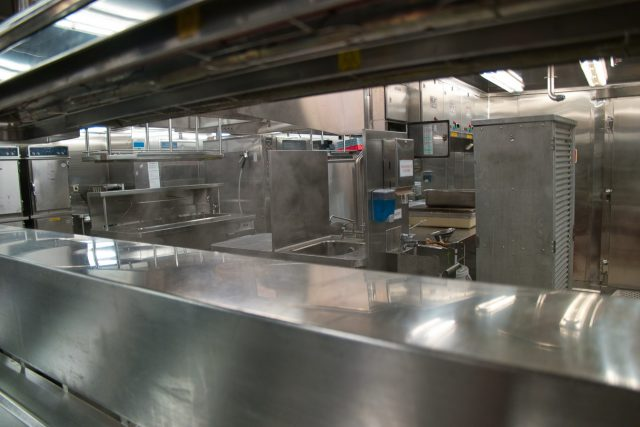 Behind the Scenes Ship Tour - Steamy hot kitchen view