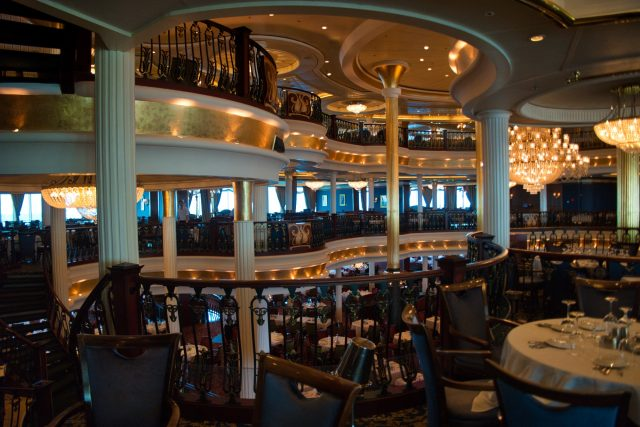 Behind the Scenes Ship Tour - Back to the main dining room 3rd deck