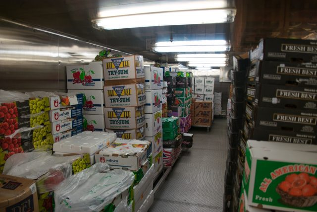 Behind the Scenes Ship Tour - Lot of fresh produce in storage on day 5